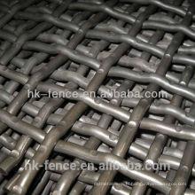 écran de treillis métallique ondulé d'acier inoxydable / maille de grille d'acier inoxydable