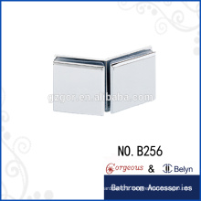 135 degree glass-glass clamp hinges pallet collars