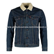 Men's Denim Jacket, Factory Price, Sample Lead Time of Just 5 Days, OEM and ODM Orders are WelcomeNew