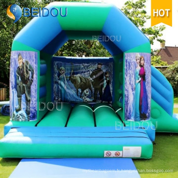 Princesse Glacée Infantile Populaire Jumping Bouncy Castle Inflatable Bouncer
