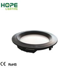 18W Schwarz ABS LED-Panel Licht
