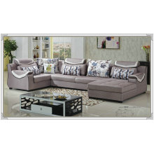 U Shape Sectional Sofa Fabric Sofa (882)