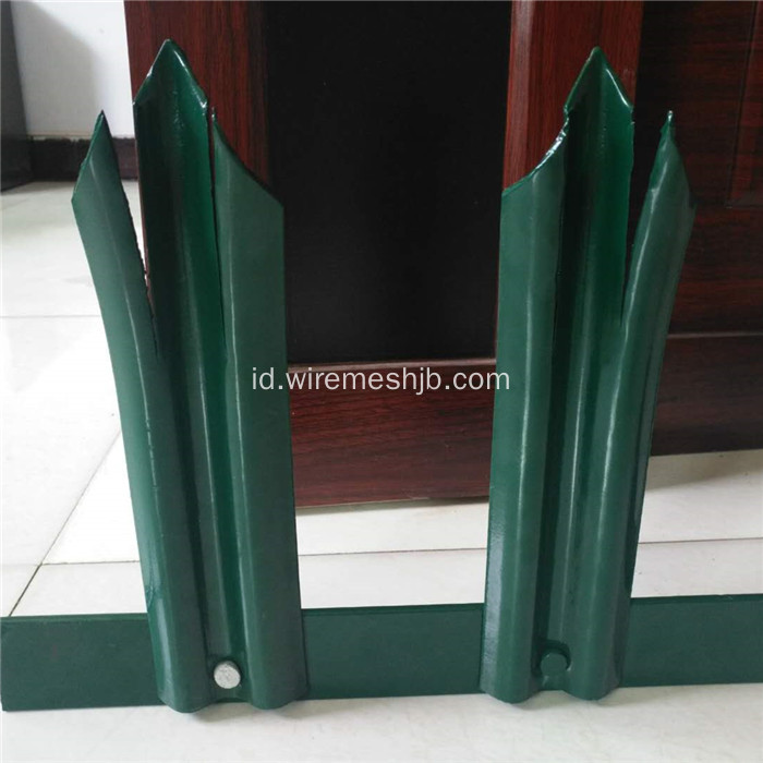 Triple Pointed Powder Coated Palisade Fencing