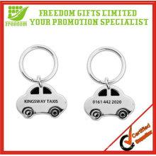 Porte-clés promotionnel en métal