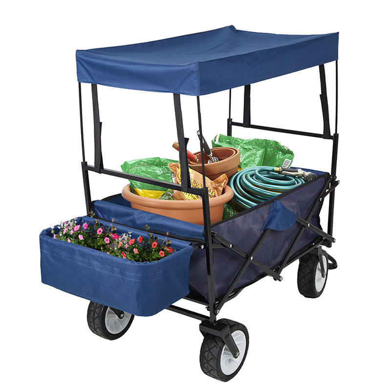 Collapsible Wagon With Canopy