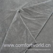 Tissu de velours de polyester 2016