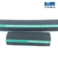 Tuyau en caoutchouc hydraulique industriel flexible EN 856 4sh / 4sp SAE 100 R12
