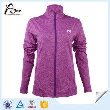 Esporte Wear Team Full Zipper Mulheres Sport Jacket