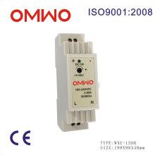 Omwo Wxe-15dr-24 DIN рейку 15W светодиодный трансформатор