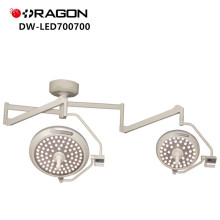 Double Head Betrieb Shadowless Light führte chirurgische Lampe