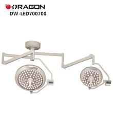 A cabeça de dupla cabeça que opera a luz Shadowless conduziu a lâmpada cirúrgica