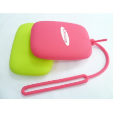 Promotional Gifts Mini Portable Key Holder Silicone Key Pouch
