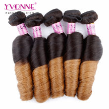 Two Tone Color Brazilian Ombre Human Hair