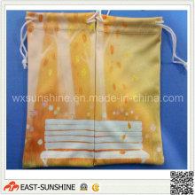 OEM дешевые сумки из микрофибры для очков (DH-MC0402)