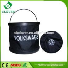 Cubos plegables de agua flexibles / cubos plásticos con tapas / cubos de plástico al por mayor