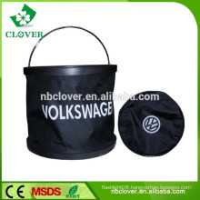Flexible Water Folding Pail / plastic buckets with lids / plastic buckets wholesale