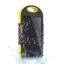 Waterproof Power Bank Solar Panel Phone Charger