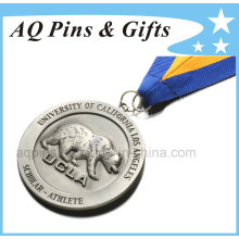 Ucla 3D Medal with 2c Ribbon