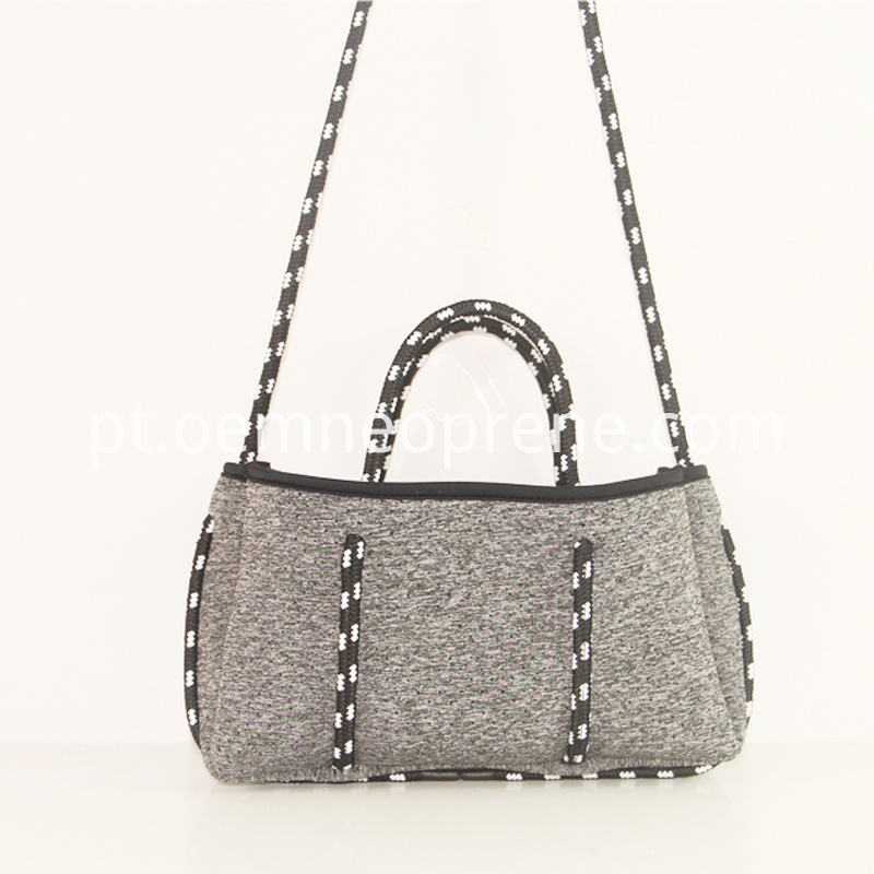 Grey Neoprene Bag