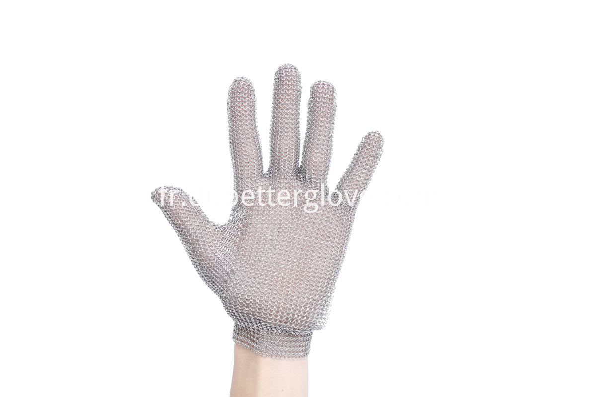 Metal Claw Strap Mesh Gloves