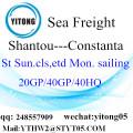 Shantou zu Constanta LCL Consolidation Service