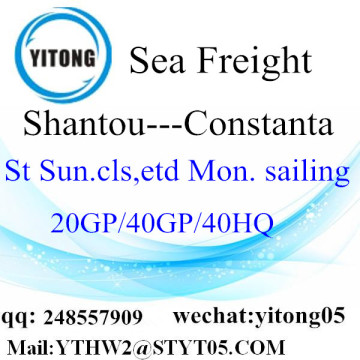 Shantou Sea Freight to Constanta