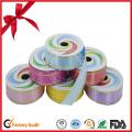 Rouleau de ruban frisé coloré pour cadeau