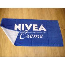 Serviette de plage en coton griffée NIVEA - 70x140CM