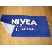 Toalla de playa de algodón con la marca NIVEA - 70x140CM