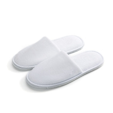 Coral fleece disposable slipper close toe