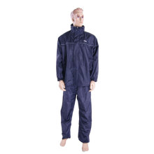 Police nylon raincoat