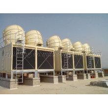 Torre refrigerando retangular certificada CT do fluxo Jnt400