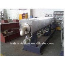 HS novo projetado SJ 120 ABS, PVC, POM reciclagem máquina extrusora de pelotização