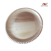 12 Inch Silver Round Shape Paper Tray