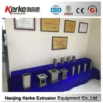 Profissional configuração personalizada W6Mo5Cr4V2 máquina de pelletização de plástico parafuso e barril