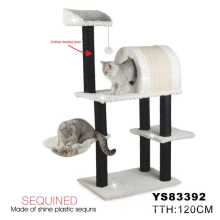 2014 Hot Luxury Wholesale Cat Tree Scratching Post (YS83392)