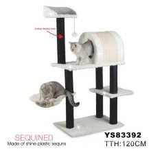 2014 Hot Luxury Wholesale Cat Tree Scratching Post (YS83392)