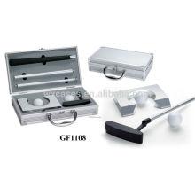 affaire golf portable en aluminium avec mousse personnalisée insert fabricant