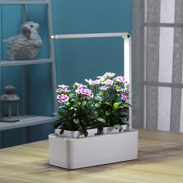 Led Light Hydroponic Systems  Flower Pot