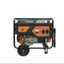6квт высокое качество бензиновый генератор с электрическим запуском двигателя
