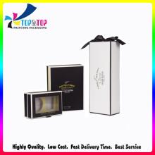 Shenzhen Factory Custom Printed Matte Black Cardboard Candle Box