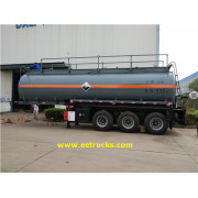 Tri-axle 7000 Gallon Sulfuric Acid Transport Trailers