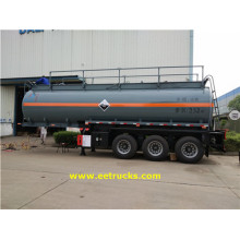 Tri-axle 7000 Gallon Sulfuric Acid輸送トレーラー