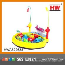 Juguete colorido y popular de los pescados de la robusteza de los niños con la luz y la música