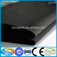 China manufacturer high quality black color herringbone fabric