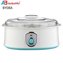 Home Use Multifunctional Greek Yogurt Maker 4 Containers Glass Jars with Mechanical Control Electric Yogurt Maker