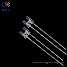 2017 hot style 5mm flat top led 850nm IR agua claro
