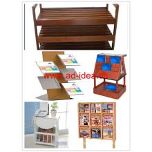 Стол для деревянной литературы / стенд для книги, литературы (WR-2142)