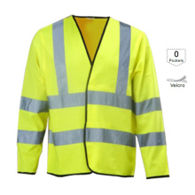 Reflective Long Sleeves Safety Clothes (VL-S114)