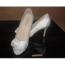 Novo estilo de moda sapatos de salto alto do casamento (HCY02-1601)